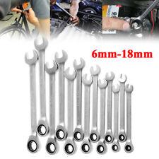 Reversible Ratsche Gabelschlüssel 6-18mm Ratschenringschlüssel Knarrenschlüssel