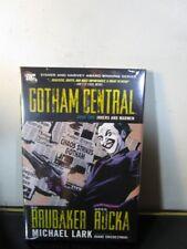 Gotham Central Book 2 Jokers Madmen Hardcover/HC Ed Brubaker Greg Rucka Sealed~