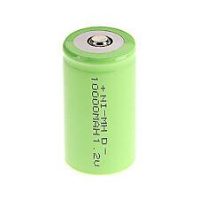 1 X D Größe 1.2 V 10000mAh NiMH Akkus Wiederaufladbare Batterie