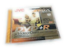 JVC DVD+R 1-16x High-Speed Disc for Video Data Single Version 1.3
