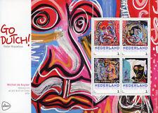 Netherlands 2017 MNH Michiel de Ruyter Go Dutch Peter Riezebos 4v M/S Art Stamps