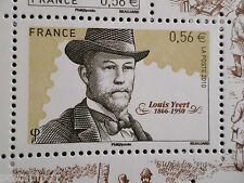 FRANCE 2010 timbre 4449, BOURSE aux TIMBRES, LOUIS YVERT, neuf**, MNH CELEBRITY