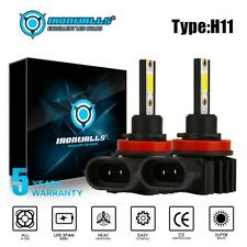 H11 LED Headlight Bulbs/Fog Light Kit 330000LM Low Beam 6000K Super Bright 2Pcs