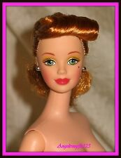 Gorgeous nude mackie sculpt 1940's hair with strawberry blonde hair