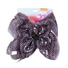 "7"" Large Ribbon Amoeba Hair Bows For Girls Children Handmade Big Knot Hair Clips"