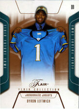 2003 Fleer FLAIR Collection #91 Byron Leftwich #092/125 Rookie Football Card