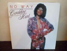 "LP 12"" GERALDINE HUNT - No Way - EX/NM - UNIWAVE - WLP-1009 - CANADA - 1980"