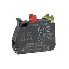 Telemecanique ZBE102 Push Button N/C Single - Spare Contact Block ZBE 102