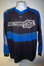 Arctiva Moose padded Snowear Shirt Blue/Black Large Motorcross  C-9
