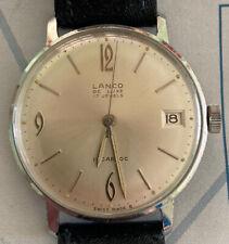 Lanco De Luxe 17 Jewels Incabloc SWISS Made