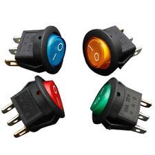 4 x 12V LED illuminated rocker on-off toggle SPST switch dash light car boa B6I6