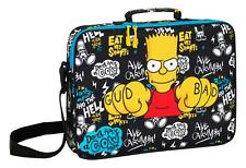 Officiel Bart the Simpsons Grand ordinateur portable Sac École Enfants