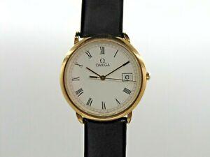Vintage Omega De Ville Unisex Classic Dress Watch, Leather (AP120W)