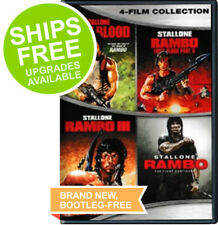 Rambo Complete Collection DVD, NEW, First Blood / Rambo 2 / Rambo 3 / Rambo