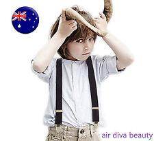 Boys Kids Party Wedding Elastic Clip on Adjustable Yback Belt Suspender Braces