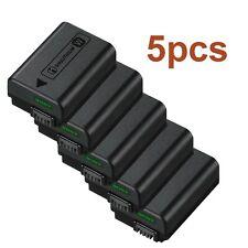 New Lot 5pcs Original Genuine Sony InfoLithium NP-FW50 Li-Ion Battery Pack