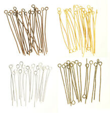 """100pcs 20-60mm  """"9"""" Shape Eye Heads Pins Supplies For Jewelry Making Findings"""