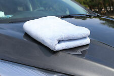 """Ultra Thick 1200 gsm Dual Plush Microfiber Drying and Detailing Towel 18"""" X 26"""""""
