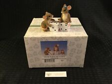 Charming Tails By Fitz And Floyd You'Re Worth The Gamble #97/38 - New In Box