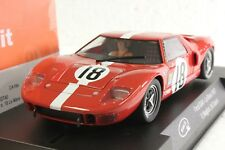 SLOT IT SICA18E FORD GT40 LE MANS 1967 NEW 1/32 SLOT CAR IN DISPLAY