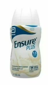 6x Ensure Plus Vanilla Milkshake 200ml Expiry 2021/4