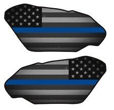 Motorcycle Side Gas Tank Pad 3D Gel Fallen Officer Police Protector Side Guard