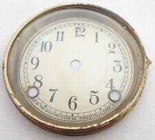 Antique Sessions Mantel Shelf Clock Dial Bezel Parts Repair