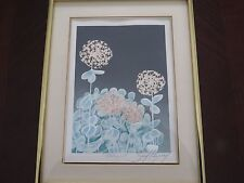 "Embossed Art Print Signed and Titled ""CRASULA"" by David Allgood"
