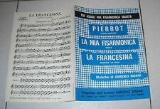 Spartiti Tre assoli per FISARMONICA SOLISTA Amedeo Sisani Ballo Liscio Orchestra