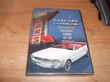 Great Cars: American Classics Ford Mustang Cobra Thunderbird (DVD, 2009) NEW