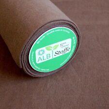 Bio-Bündchen Braun Baumwolle Biostoff Schlauchware Albstoffe