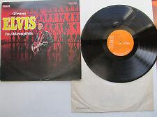 "From Elvis In Memphis 12"" Elvis Presley RCA Victor SF 8029 Mono UK 1978 Reissue"