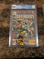 Defenders #47, CGC NM+ 9.6, 1st Moon Knight Team-Up; Valkyrie, Hulk