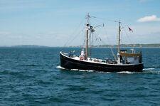 Kingfisher R/C Jersey Coast Dragger Model Boat Ship Plans,Templates,Instructions