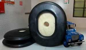 2x Rubber Brake Pedal Floor Panel Grommets & Felt Seals Land Rover Series 1 80