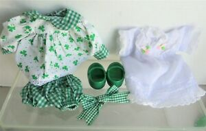 MUFFY Vanderbear ST. PATRICK'S DAY Outfit and Sweet Dreams Nightgown only