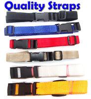 1M x 2 GOLF TROLLEY WEBBING straps POWAKADDY 40mm wide