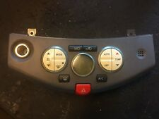 04-09 Nissan Micra A/C Heater Climate Controls 27500AX601