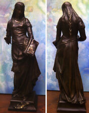 "Rar: 51 cm Original-Bronze-Statue E. Picault  ""CHARITÉ"", Signiert, Bronzestempel"