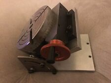 """Sherline 3700 - 4"""" Rotary Table & Tilting Angle Table 3750 for Mini Mill"""