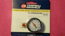 Campbell Hausfeild GR0044, Replacement Gauge, 1/8'' NPT 0-250 PSI