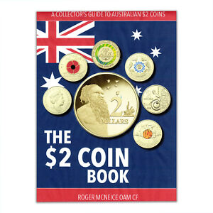Australia $2 Dollars Coin Book Collector's Guide Softcover 176x220mm