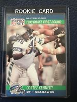 1990 Pro Set #671  Cortez Kennedy RC Seahawks HOF!  NM-MT