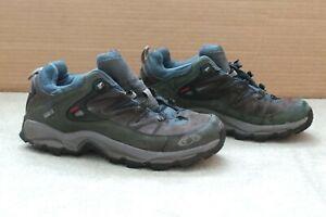Salomon Gore-tex XCR Sensifit Walking Hiking Shoes Size 7.5 uk41 1/3 eu