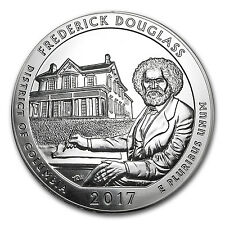 2017 5 oz Silver ATB Frederick Douglass National Site, DC - SKU #102386