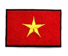 Red Army Soviet Flag Embroidered Patch Iron Sew On Badge USSR Russia Communist