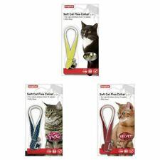 Beaphar Soft Cat Flea Collar Reflective, Velvet and Sparkle Red, Blue, Black