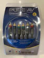 Pure AV Component Video & RCA Audio Cable Kit by Belkin Brand New 12 ft
