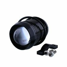Moto Impermeabile CREE 12V U2 30W LED fanale Fog Testa Luce Nera - UK