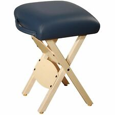 Master Massage de tables de massage Tabouret de massage pliante en bois